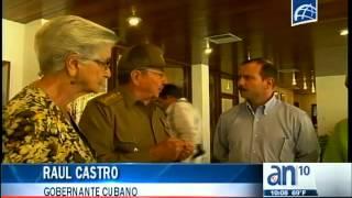 Raul Castro recibió con gran abrazo al espía Cubano Fernando Gonzalez - América TeVé