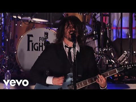 Foo Fighters - Everlong (Live on Letterman)