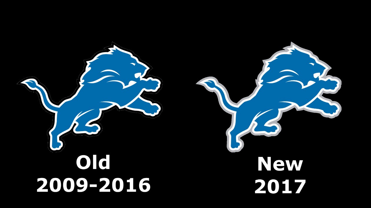 detroit lions new logo for 2017
