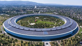"""Apple Park  - The """"Spaceship"""" Then and Now"""