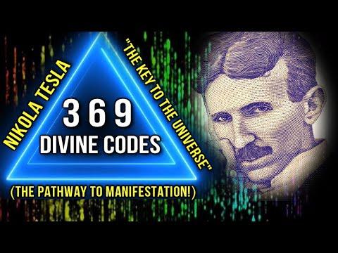 "The Secret of Nikola Tesla 3 6 9 Divine Codes (+ 369 Manifestation Exercises) ""Key to the Universe"""