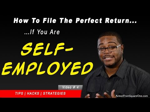 Taxes For the Self-Employed | How to file the PERFECT Income