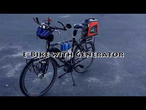 E Bike With Generator Youtube