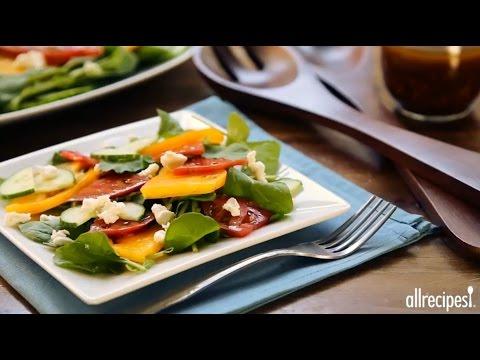 How To Make Our Favorite Balsamic Vinaigrette   Dressing Recipes   Allrecipes.com