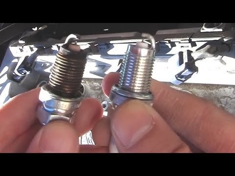 Ngk Iridium Spark Plugs At 100000 Miles Youtube