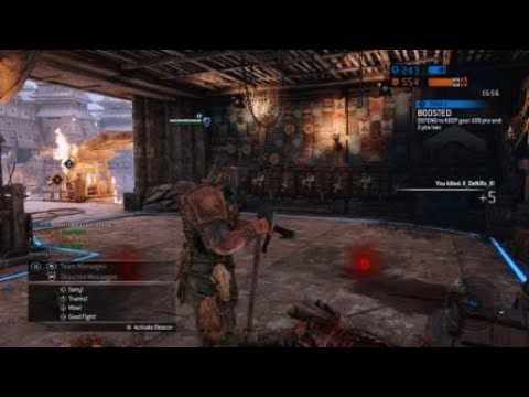 For Honor Berserker Master Intuitive Heavy Timing