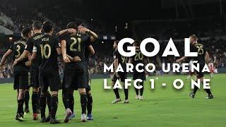 GOAL Marco Ureña | LAFC 1 - 0 New England