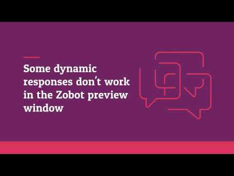 Dynamic responses and File upload in Dialogflow - YouTube