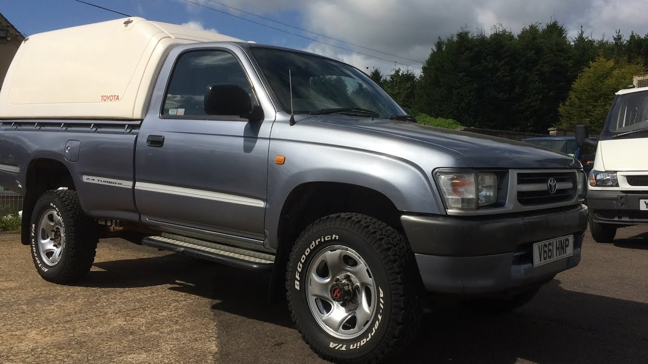 1999 TOYOTA HILUX 4x4 SINGLE CAB PICKUP TRUCK REVIEW