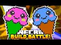 Minecraft BUILD BATTLE ICECREAM 4 w Preston, Vikkstar Woofless