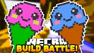 Minecraft BUILD BATTLE 'ICECREAM!' #4 w/Preston, Vikkstar & Woofless!