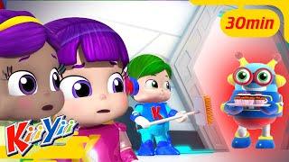 No Monsters Halloween Special!   Kids Learning   ABC 123   KiiYii   Nursery Rhymes & Kids Songs