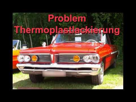 Oldtimer - Thermoplast - Lackierung - quellender Untergrund - Isolierung