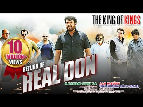 The Real Don Return - Mammootty | Dubbed Hindi Movies 2015 Full Movie