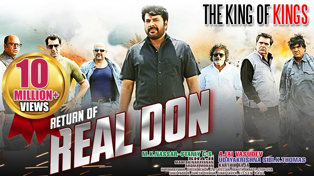 the real don return mammootty dubbed hindi movies 2015 full