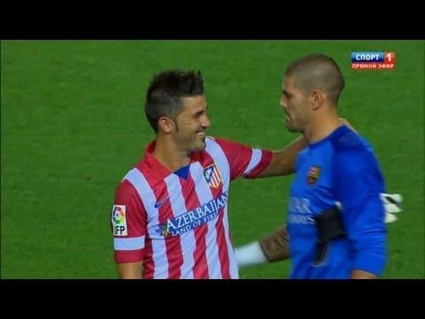 David Villa vs Barcelona (A) 13-14 720 HD - SuperCopa by Isco23i thumbnail
