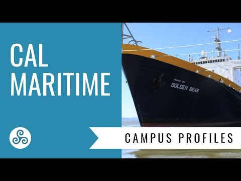 Cal Maritime Academy - campus visit and overview by American College Strategies