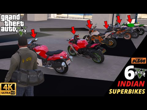 gta-5-:-importing-6-indian-super-bikes-from-india-😱