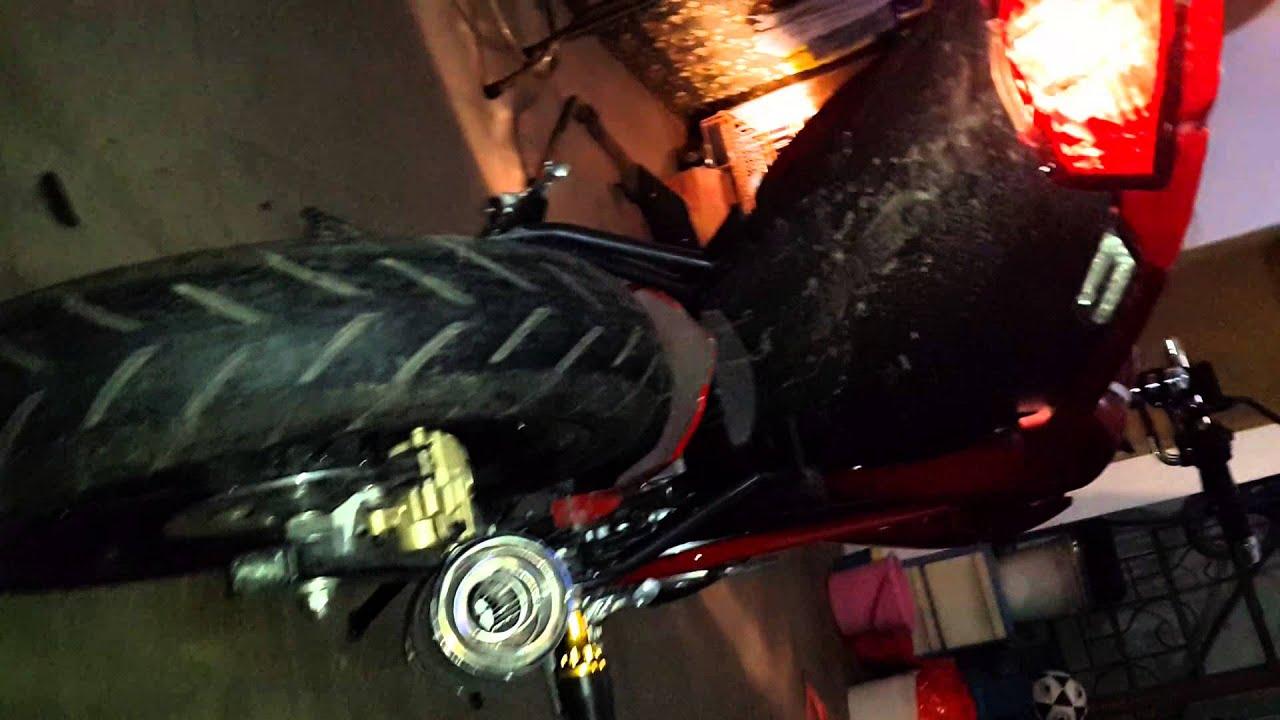 New Vixion Nvl With R9 Mugello Knalpot Racing Kawasaki Klx 250 Klx250