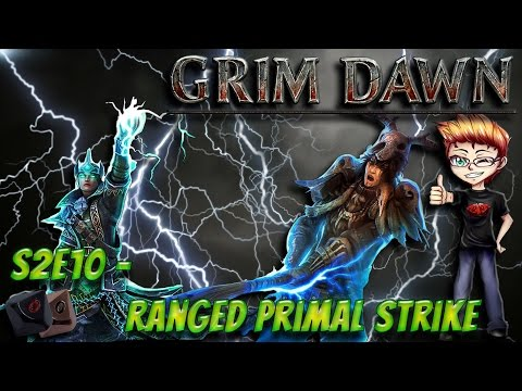 Grim Dawn: Druid Build E10 - Ranged Primal Strike - Смотреть