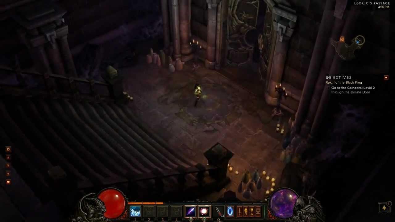 diablo 3 wizard walkthrough