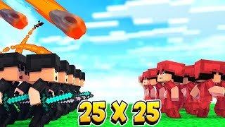 Скачать 25 VS 25 ПРОТИВ НАС ВЫШЛИ БЕСПОЩАДНЫЕ КОГО НАНЯЛИ ЧЕРНЫЕ ПАНТЕРЫ Minecraft