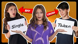 Who Knows Me Better? CRUSH VS BEST FRIEND Challenge *BROKE MY NEW IPHONE**| Sophie Fergi