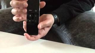 AppleTV: De Apple TV 4 remote