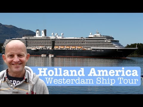 Holland America MS Westerdam Tour and Review (Post Refit Innovations and Additions)