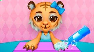 Спа салон в Зоовиле | Маникюр и наряды с животными в детской игре