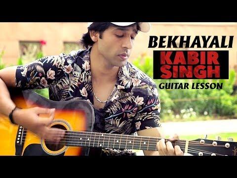 Download Bekhayali Kabir Singh Guitar Cover Mp3 3gp Mp4