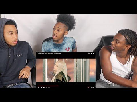 Cardi B - Ring (feat. Kehlani) [Official Video]-REACTION!!