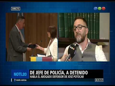 La palabra del abogado de Potocar, el jefe de la Policía porteño detenido