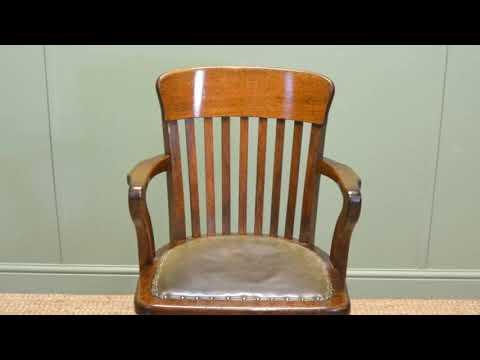 Oak Office Chair Base Furniture UK