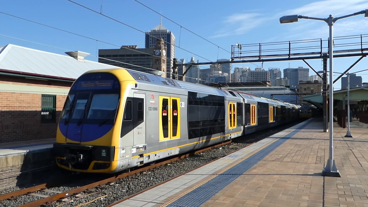 how to catch a train from newcastle to sydney