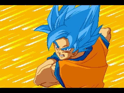 Goku Super Saiyan Blue in Supersonic Warriors