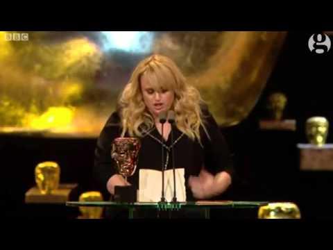Rebel Wilson makes fun of Oscars diversity row in show stealing Baftas speecha
