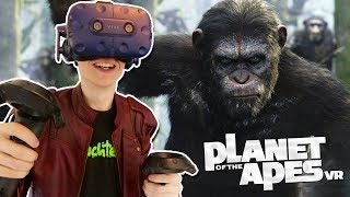 PLANET OF THE APES IN VIRTUAL REALITY! | Crisis on the Planet of the Apes VR (HTC Vive Pro Gameplay)