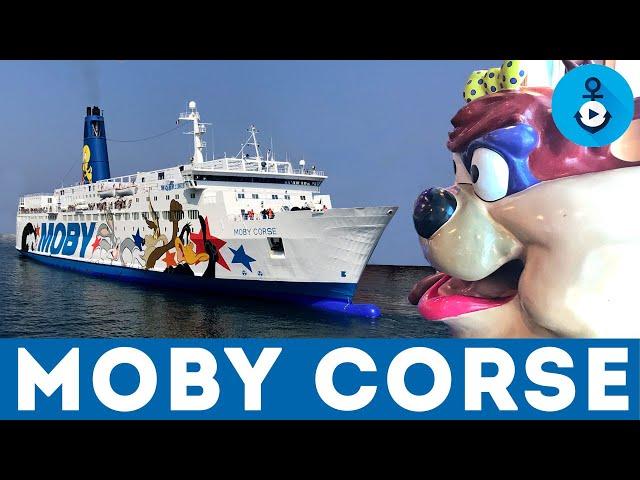 Viaggio sul Moby Corse - Interni, navigazione (ship tour)