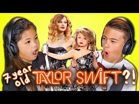 Thumbnail: KIDS REACT TO 7 YEAR OLD TAYLOR SWIFT?!