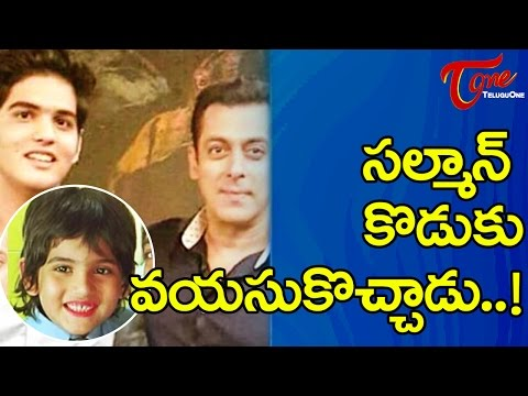 Bollywood Most Eligible Bachelor Salman Khan Meets His Reel-life Son !