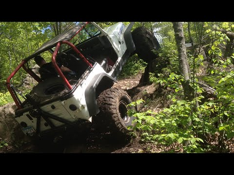 Mesabi Mountain ORV Trail MTT - Jeep trail ride 2015