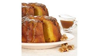 Golden Rum Cakes  Set Of 2