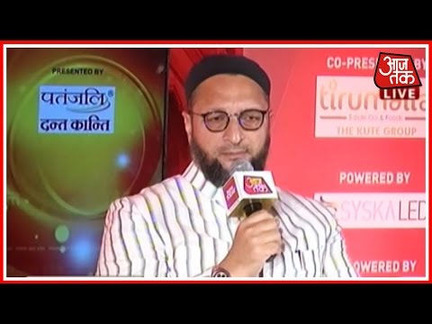 Panchayat Aaj Tak : Asaduddin Owaisi Debate On UP Elections 2017