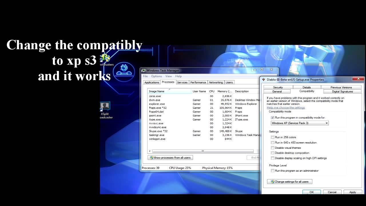 diablo 3 setup updating setup files