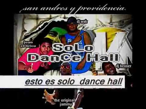 karaoke    solo dance hall  by the original feat juan el lirico
