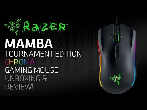 Razer Mamba Tournament Edition color ERGO MOUSE GAMING 16.000dpi rz01-01370100