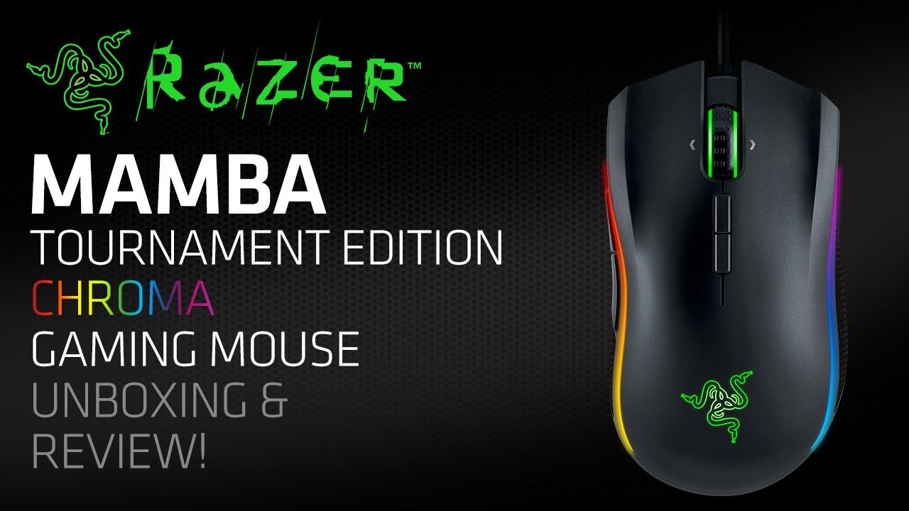 Мышка razer mamba tournament edition