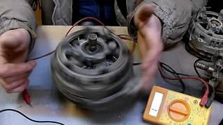 Проверка обмоток генераторов