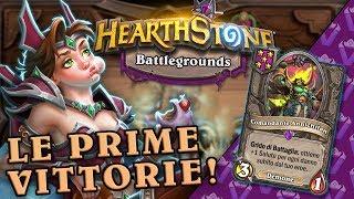Le Prime Vittorie su BATTLEGROUNDS!   Hearthstone Ita